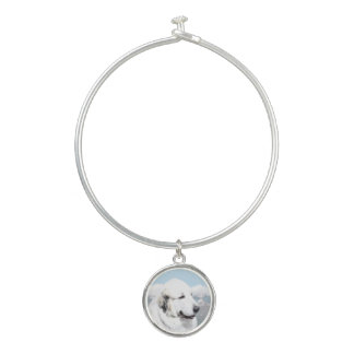 Great Pyrenees Bangle Bracelet
