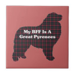 Great Pyrenees BFF Tiles