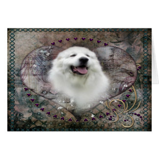 "Great Pyrenees Card - ""Beautiful Benny"""