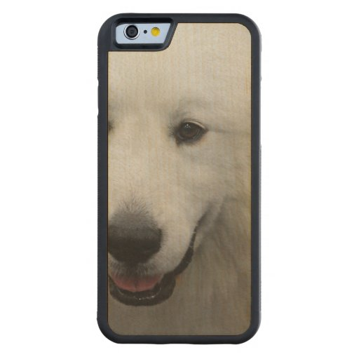 Great Pyrenees Carved® Maple iPhone 6 Bumper Case