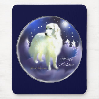 Great Pyrenees Christmas Gifts Mouse Pad