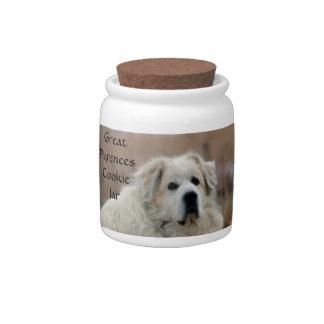 Great Pyrenees Cookie Jar Candy Jar