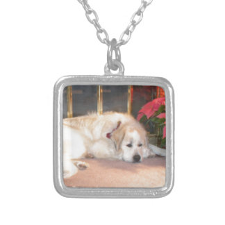 Great pyrenees custom necklace