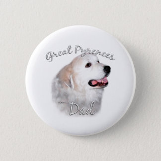 Great Pyrenees Dad 2 Button