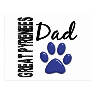 Great Pyrenees Dad 2 Postcard