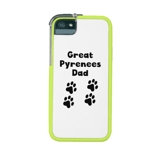 Great Pyrenees Dad iPhone 5 Case