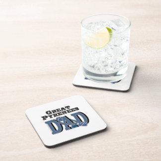 Great Pyrenees DAD Beverage Coaster