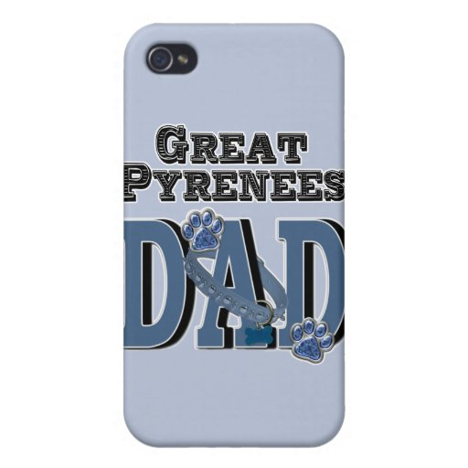 Great Pyrenees DAD Cover For iPhone 4
