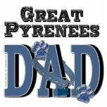 Great Pyrenees DAD Photo Cutout