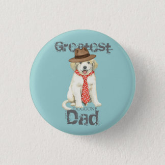 Great Pyrenees Dad Pinback Button