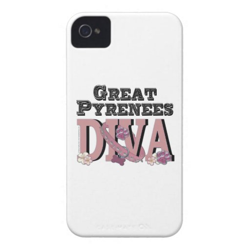 Great Pyrenees DIVA Blackberry Bold Cases