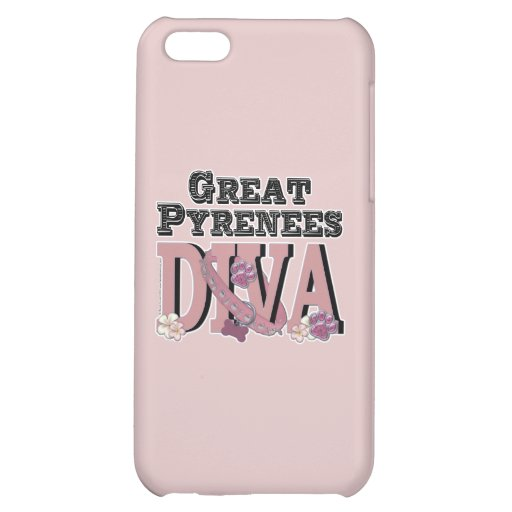 Great Pyrenees DIVA Case For iPhone 5C