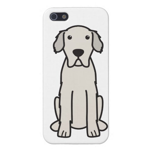 Great Pyrenees Dog Cartoon iPhone 5 Cover