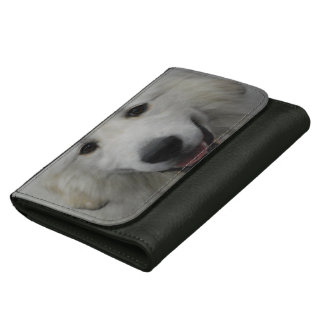 Great Pyrenees Dog Wallet For Women
