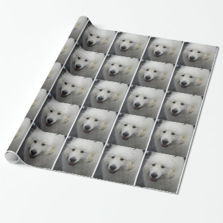 Great Pyrenees Dog Wrapping Paper