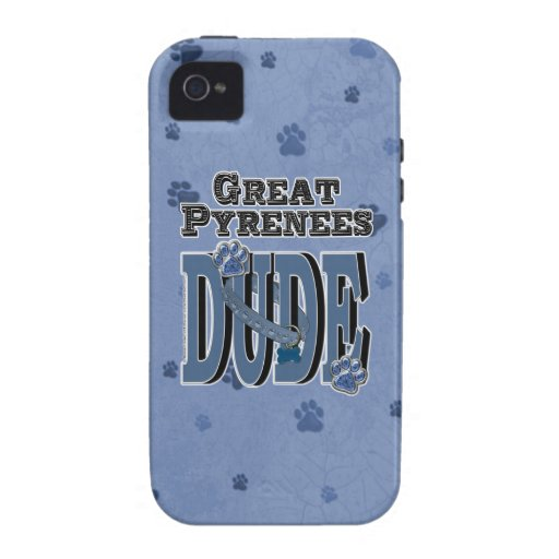 Great Pyrenees DUDE iPhone 4/4S Cover