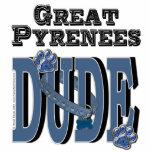 Great Pyrenees DUDE Photo Cut Out