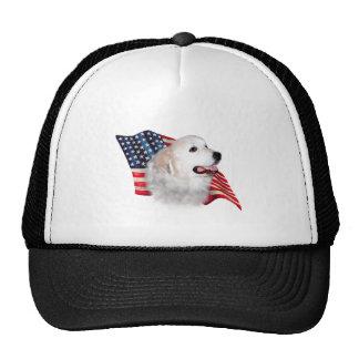 Great Pyrenees Flag Trucker Hat