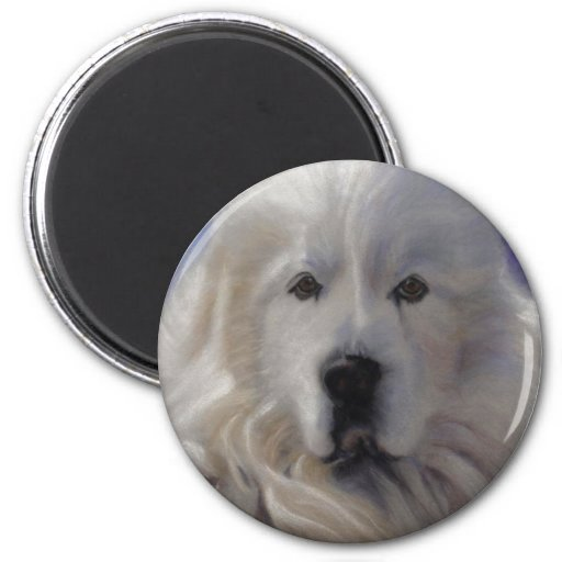 Great Pyrenees Fridge Magnet