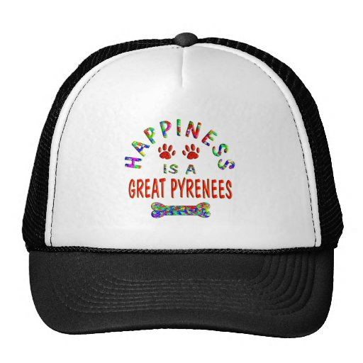 Great Pyrenees Happiness Mesh Hat