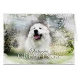 Great Pyrenees Holiday/Seasons Card