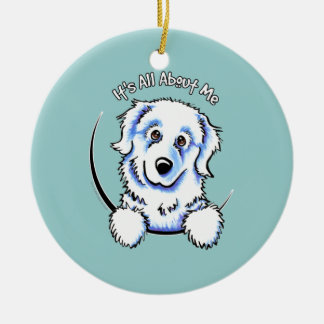Great Pyrenees Its All About Me Ceramic Ornament
