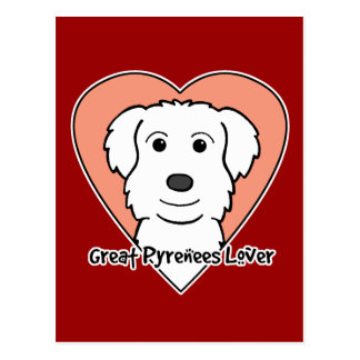 Great Pyrenees Lover Postcard
