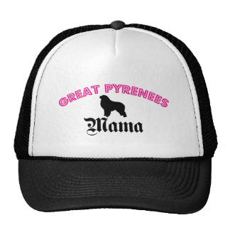 Great Pyrenees Mama Trucker Hat