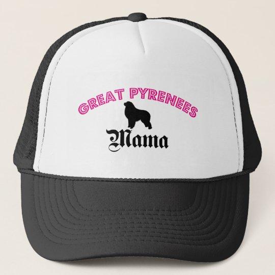 Great Pyrenees Mama Trucker Hat