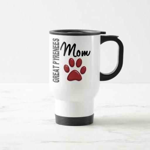 Great Pyrenees Mom 2 Coffee Mug