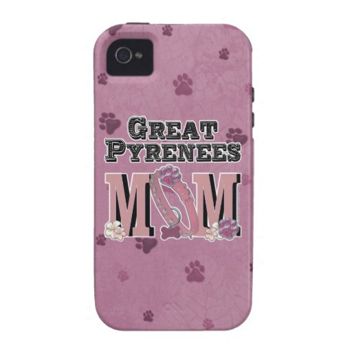 Great Pyrenees MOM iPhone 4/4S Cases