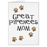 Great Pyrenees Mom Greeting Cards