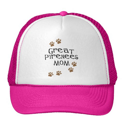 Great Pyrenees Mom Mesh Hat