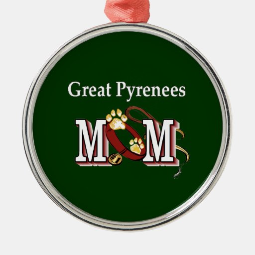 Great Pyrenees Mom Ornament