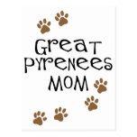 Great Pyrenees Mom Post Card