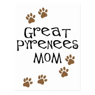 Great Pyrenees Mom Postcard
