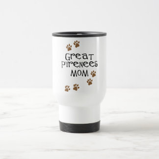Great Pyrenees Mom Travel Mug