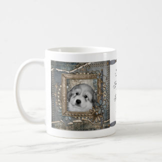 Great Pyrenees Puppy Double Sided Mug 2011