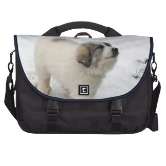 Great Pyrenees Puppy Laptop Commuter Bag