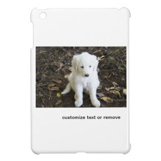 Great Pyrenees Puppy Rose iPad Mini Case