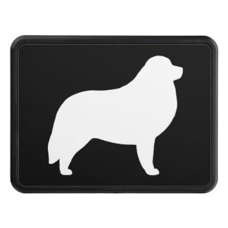 Great Pyrenees Silhouette Tow Hitch Cover