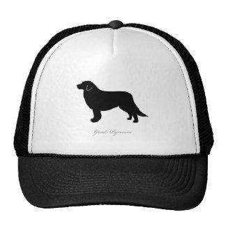 Great Pyrenees silhouette Trucker Hat
