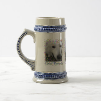 Great Pyrenees stein