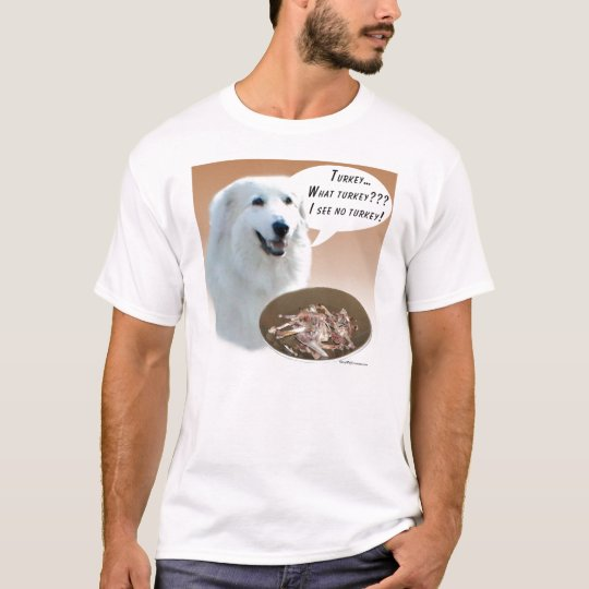 Great Pyrenees Turkey T-Shirt