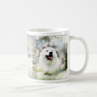 Great Pyrenees Winter Scene Mug