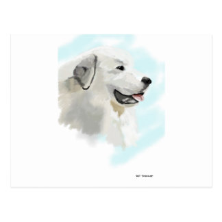 Great Pyrenese Postcard