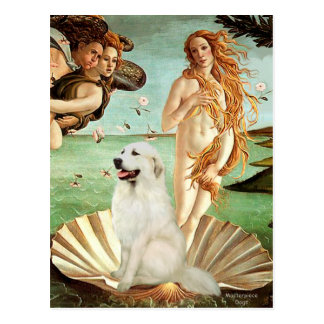 Great Pyrnees 1 - Birth of Venus Postcard