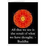 GREAT QUOTE from the  Buddha Card