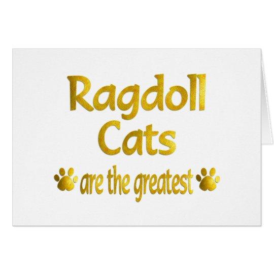 Great Ragdoll Card