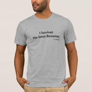 Great Recession Survivor T-Shirt